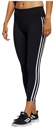 adidas Believe This Stripe 7/8 Tights (Black/White) Women's Casual Pants