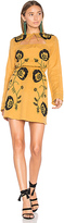 Tularosa Keelan Dress in Mustard. - size XS (also in )