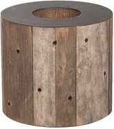 Andrew Martin Wooden Alphabet O Side Table
