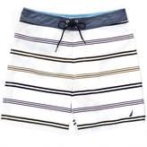 Nautica Quick Dry Striped Swim Trunk