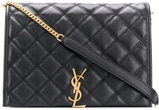 Saint Laurent large Becky chain shoulder bag