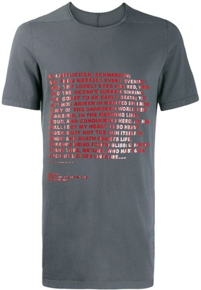 Rick Owens Deeper Than A Mother's Tears T-shirt