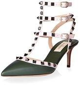 Valentino Women's Rockstud Ankle Strap Pump