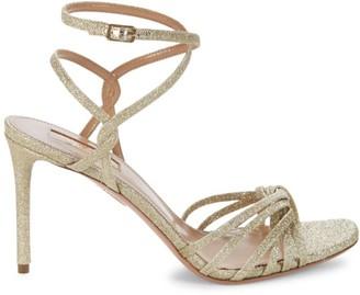 Aquazzura May Glitter Sandals