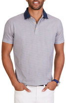 Nautica Classic Fit Patterned Polo Shirt