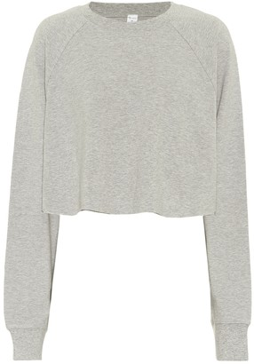 Alo Yoga Double Take cropped sweatshirt