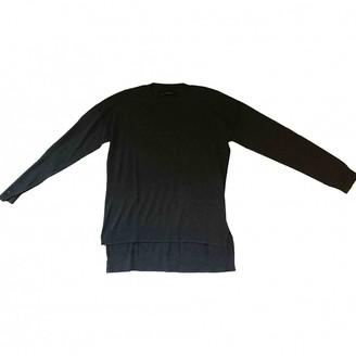 AllSaints Grey Silk Knitwear for Women