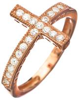 Max & Chloe Signature Cross Ring