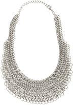 Heavy Chain Bib Necklace