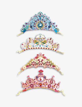 Djeco Like A Princess tiara set of 4