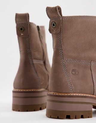 Timberland ankle boot in taupe