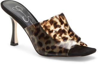 Jessica Simpson Olena Transparent Slide Sandal