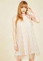 Ryu Time and Grace Lace Dress in Champagne in M