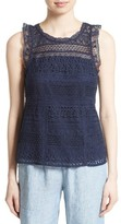 Joie Women's Lupe Lace Tank