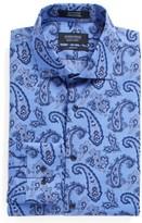 Nordstrom Men's Trim Fit Paisley Dress Shirt