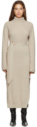 Nanushka Beige Canaan Turtleneck Dress