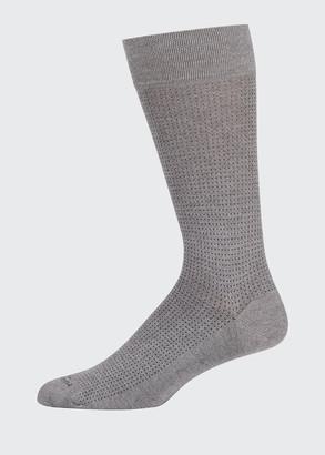 Marcoliani Milano Men's Micro Pin-Dot Socks