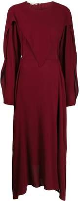 Stella McCartney layered cut-out midi-dress