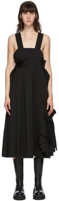 Enfold Black Gabardine Dress