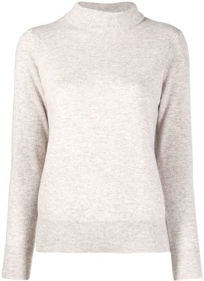 N.Peal Cashmere Mock-Neck Jumper