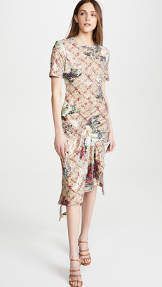 Preen by Thornton Bregazzi Rio Sequined Floral Dress