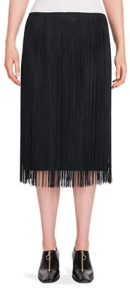 Stella McCartney Felicity Fringe Pencil Skirt