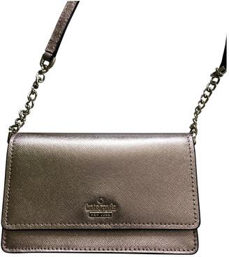 Kate Spade Gold Leather Handbags