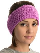 Cuddl Duds Ottoman Textured Headband - Fleece Lined (For Women)