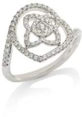 De Beers Enchanted Lotus Diamond Ring