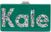 Edie Parker Jean Kale clutch - women - Acrylic - One Size