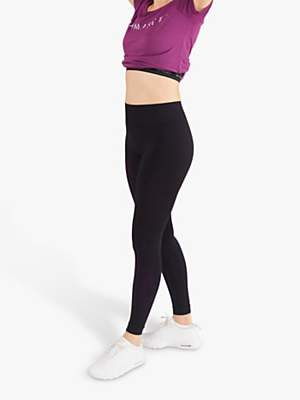 M Life Bha Yoga Leggings, Black with Berry