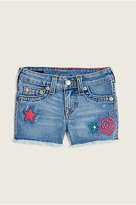 True Religion Patched Toddler/Little Kids Short
