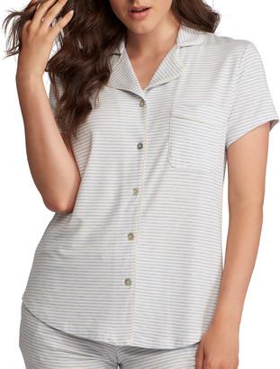 Lusome Donna Cap-Sleeve Pajama Top