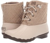 Sperry Saltwater Quilted Wool (Oyster/Oatmeal) Women's Shoes