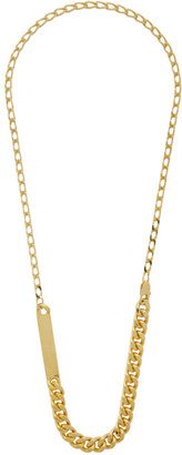 Maison Margiela Gold Chain Necklace