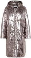 Golden Goose Deluxe Brand Metallic puffer coat
