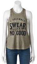 """Juniors' Harry Potter """"Up To No Good"""" Racerback Graphic Tank"""