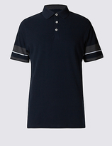 Blue Harbour Tailored Fit Pure Cotton Polo Shirt