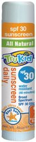 TruKid Sunny Days Water Resistant Sunscreen Stick - SPF 30+ - 0.62 oz