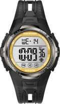 Timex Men's T5K8039J Marathon Indiglo Black/Yellow Digital Sport Watch