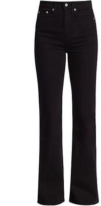 Rag & Bone Jane Super High-Rise Flare Jeans
