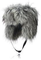 Imposter Women's Faux-Fur Trapper Hat-GREY