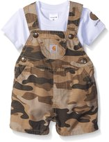 Carhartt Baby Boys' Shortall Set