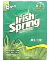 Alöe Irish Spring Bar Soap, 8 ct