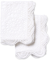 Melange Home Crochet Coverlet Shams (Set of 2)