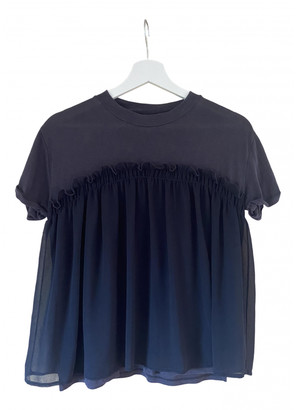 BOSS ORANGE Navy Top for Women