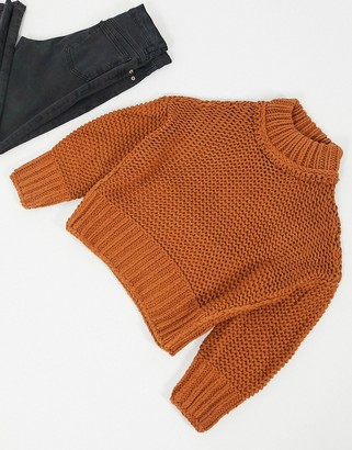 Free People My Only Sunshine chunky knit jumper