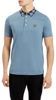 Lyle & Scott Woven Collar Short Sleeve Polo Shirt
