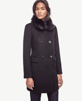 Ann Taylor Petite Luxe Collar Coat