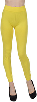 Yellow High-Waist Leggings